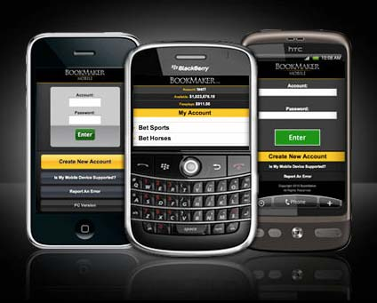 Bookmaker Mobile Cell Phone